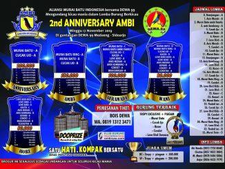 2nd Anniversary AMBI