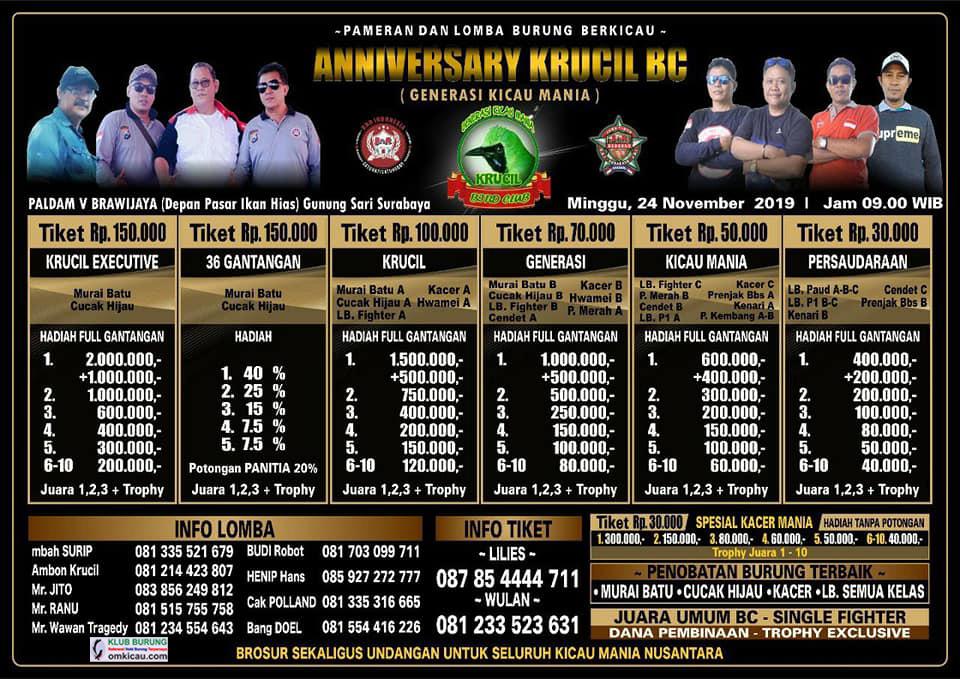 Anniversary Krucil BC