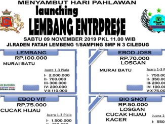 Launching Lembang Enterprise
