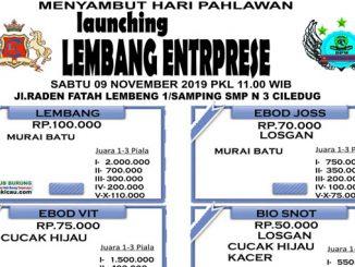 Launching Lembang Enterprise