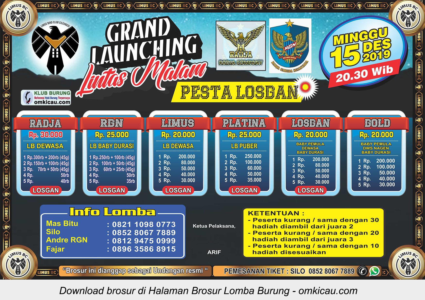 Grand Launching Lintas Malam