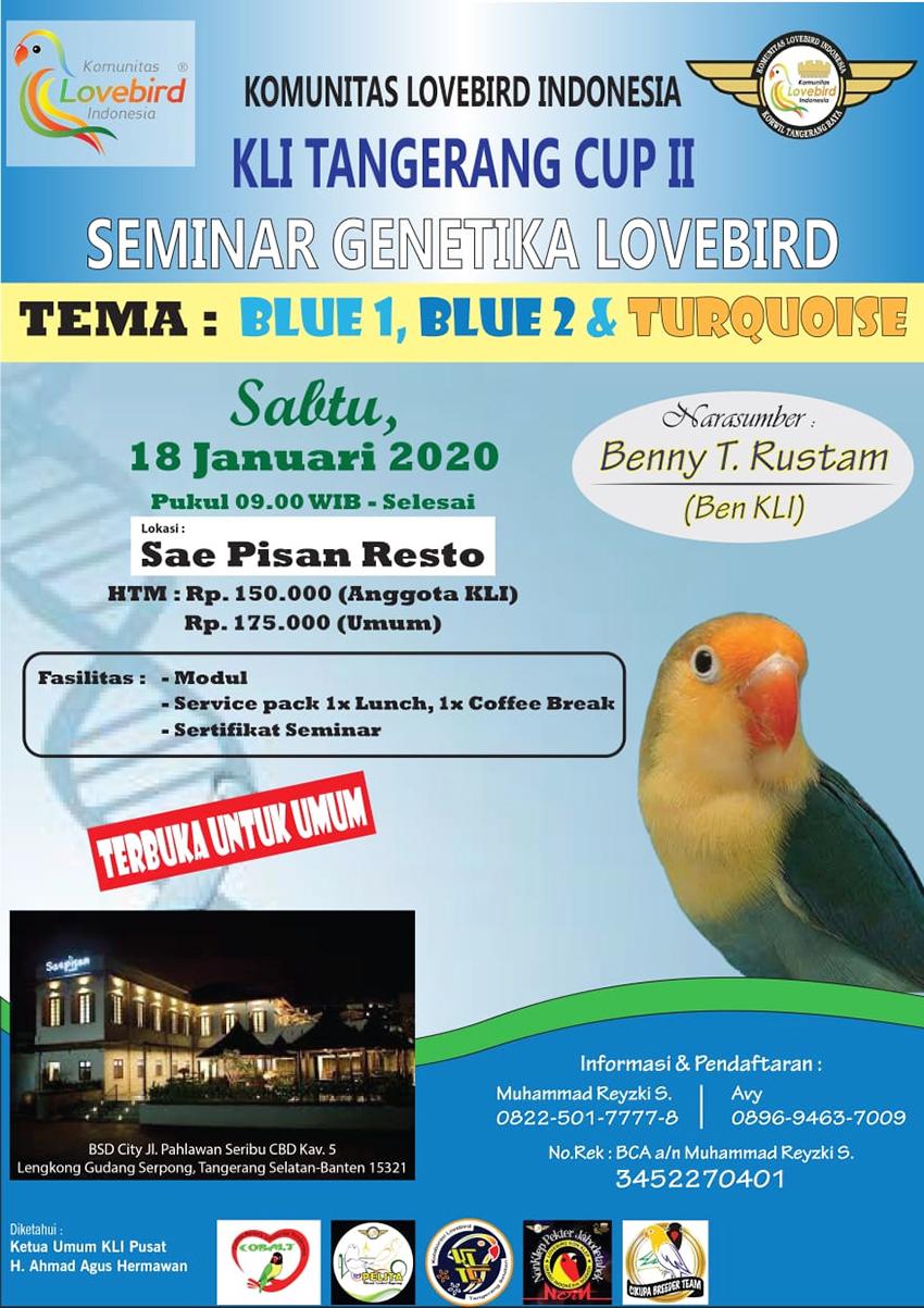 Seminar Genetika Lovebird