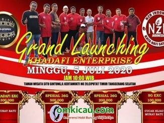 Grand Launching Khadafi Enterprise